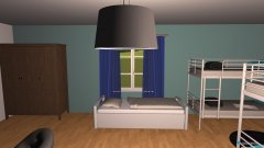 Raumgestaltung Jugendherberge Balu 4BettZimmer mit Extra Bett in der Kategorie Schlafzimmer