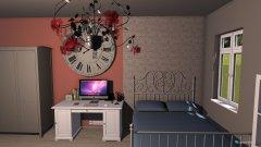 Raumgestaltung Jugendzimmer 2 in der Kategorie Schlafzimmer