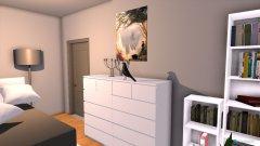 Raumgestaltung Julias neues Zimmer in der Kategorie Schlafzimmer