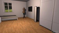 Raumgestaltung juliet in der Kategorie Schlafzimmer