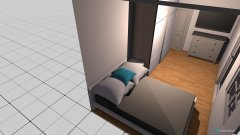 Raumgestaltung Julis zimmer in der Kategorie Schlafzimmer