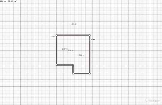 Raumgestaltung Kai's neues Zimmer in der Kategorie Schlafzimmer
