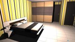 Raumgestaltung kamar utama in der Kategorie Schlafzimmer