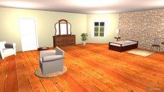 Raumgestaltung kamer 2 gastehuis in der Kategorie Schlafzimmer