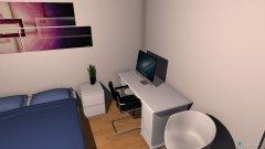 Raumgestaltung kamer gasten in der Kategorie Schlafzimmer