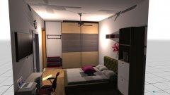 Raumgestaltung Katu's Room Plan 1 in der Kategorie Schlafzimmer