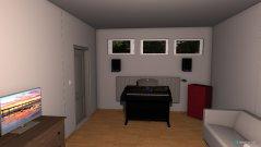 Raumgestaltung Keller-Zimmer in der Kategorie Schlafzimmer