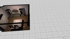 Raumgestaltung Kellerraum in der Kategorie Schlafzimmer