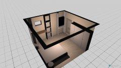 Raumgestaltung Kellerzimmer in der Kategorie Schlafzimmer