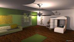 Raumgestaltung Kids Room in der Kategorie Schlafzimmer