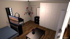 Raumgestaltung Kims Zimmer in der Kategorie Schlafzimmer