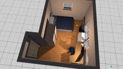 Raumgestaltung Kind 1 Grundriss in der Kategorie Schlafzimmer