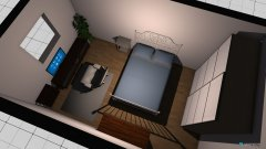 Raumgestaltung Kirsten's new room in der Kategorie Schlafzimmer
