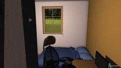 Raumgestaltung kitzlas zimma in der Kategorie Schlafzimmer