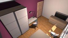 Raumgestaltung Klara Yvi Zimmer in der Kategorie Schlafzimmer