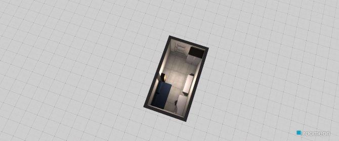 Raumgestaltung Kleiner Raum in der Kategorie Schlafzimmer