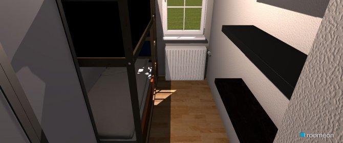 Raumgestaltung kleines Zimmer Variante 2 in der Kategorie Schlafzimmer