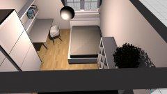 Raumgestaltung Kleines Zimmer in der Kategorie Schlafzimmer