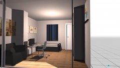 Raumgestaltung kloanes zimmr in der Kategorie Schlafzimmer
