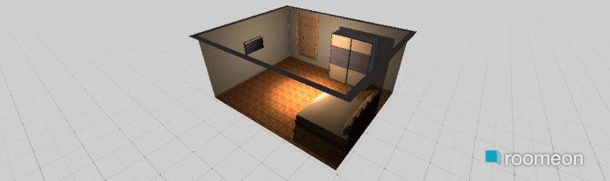 Raumgestaltung konstantinovska 10 main bedroom in der Kategorie Schlafzimmer