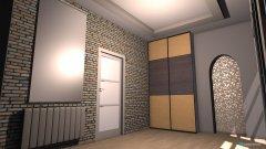 Raumgestaltung korytarz in der Kategorie Schlafzimmer