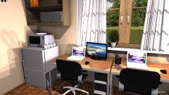 Raumgestaltung Koshuis kamer in der Kategorie Schlafzimmer