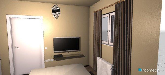Raumgestaltung krebatokamara in der Kategorie Schlafzimmer