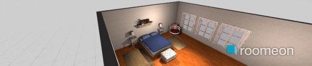 Raumgestaltung krevatokamara1 in der Kategorie Schlafzimmer