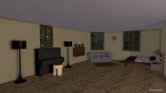 Raumgestaltung Landhaus in der Kategorie Schlafzimmer