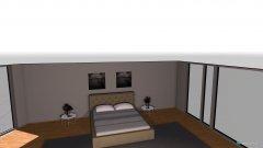 Raumgestaltung laneweile in der Kategorie Schlafzimmer