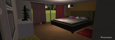 Raumgestaltung lapiezaprincipal in der Kategorie Schlafzimmer