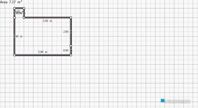 Raumgestaltung latihan in der Kategorie Schlafzimmer