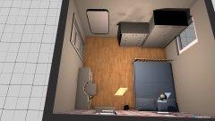 Raumgestaltung lauraszoba in der Kategorie Schlafzimmer