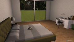 Raumgestaltung Leah's Bedroom in der Kategorie Schlafzimmer
