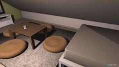 Raumgestaltung Leeres Zimmer in der Kategorie Schlafzimmer