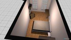 Raumgestaltung Lena Schlafzimmer (Vorschlag 1) in der Kategorie Schlafzimmer