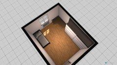 Raumgestaltung Levi szoba in der Kategorie Schlafzimmer