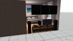 Raumgestaltung Liebe Zimmer PKJ in der Kategorie Schlafzimmer