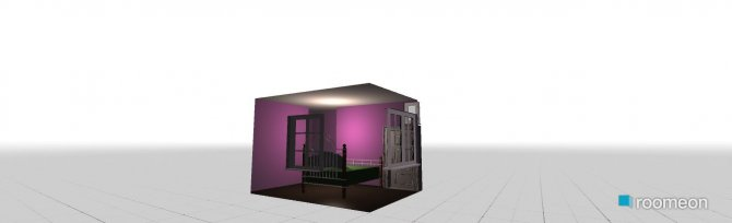 Raumgestaltung Lily's room in der Kategorie Schlafzimmer