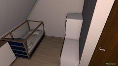 Raumgestaltung Linas zimmer in der Kategorie Schlafzimmer