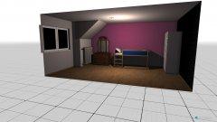 Raumgestaltung Lisa Zimmer in der Kategorie Schlafzimmer