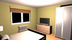 Raumgestaltung Litevská_lož in der Kategorie Schlafzimmer