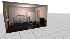 Raumgestaltung Ložnice 250714 in der Kategorie Schlafzimmer
