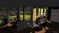 Raumgestaltung Loft bedroom and office in der Kategorie Schlafzimmer