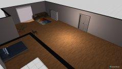 Raumgestaltung Loft in der Kategorie Schlafzimmer