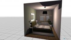 Raumgestaltung lonkutis3 in der Kategorie Schlafzimmer