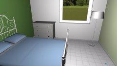 Raumgestaltung Louisa Zimmer in der Kategorie Schlafzimmer