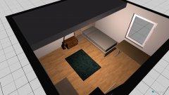 Raumgestaltung Luises Zimmer in der Kategorie Schlafzimmer