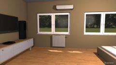 Raumgestaltung luka soba 2 in der Kategorie Schlafzimmer