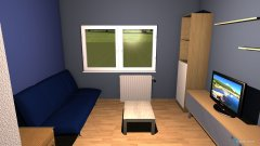 Raumgestaltung Luka-soba in der Kategorie Schlafzimmer